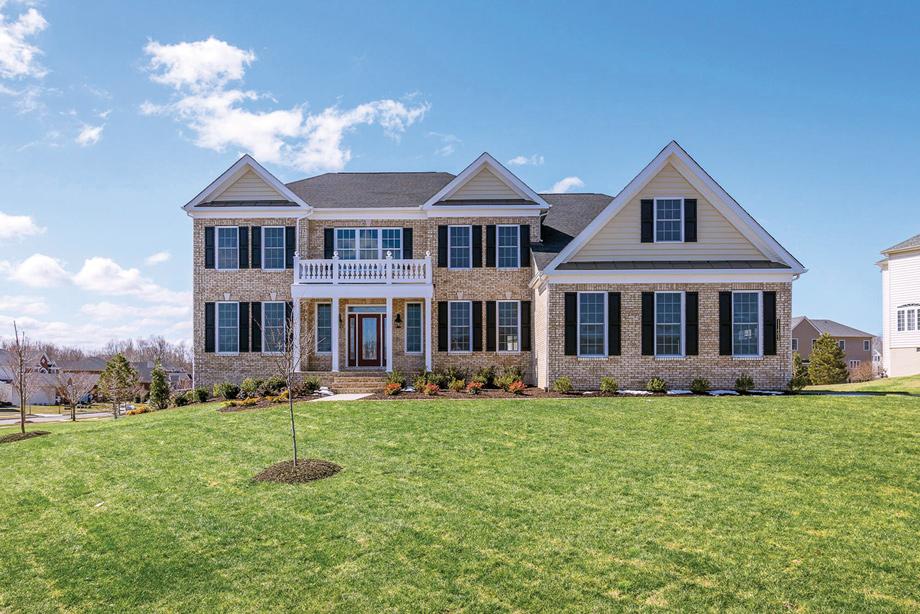 Upper marlboro md new homes for sale marlboro ridge for Maryland home builders