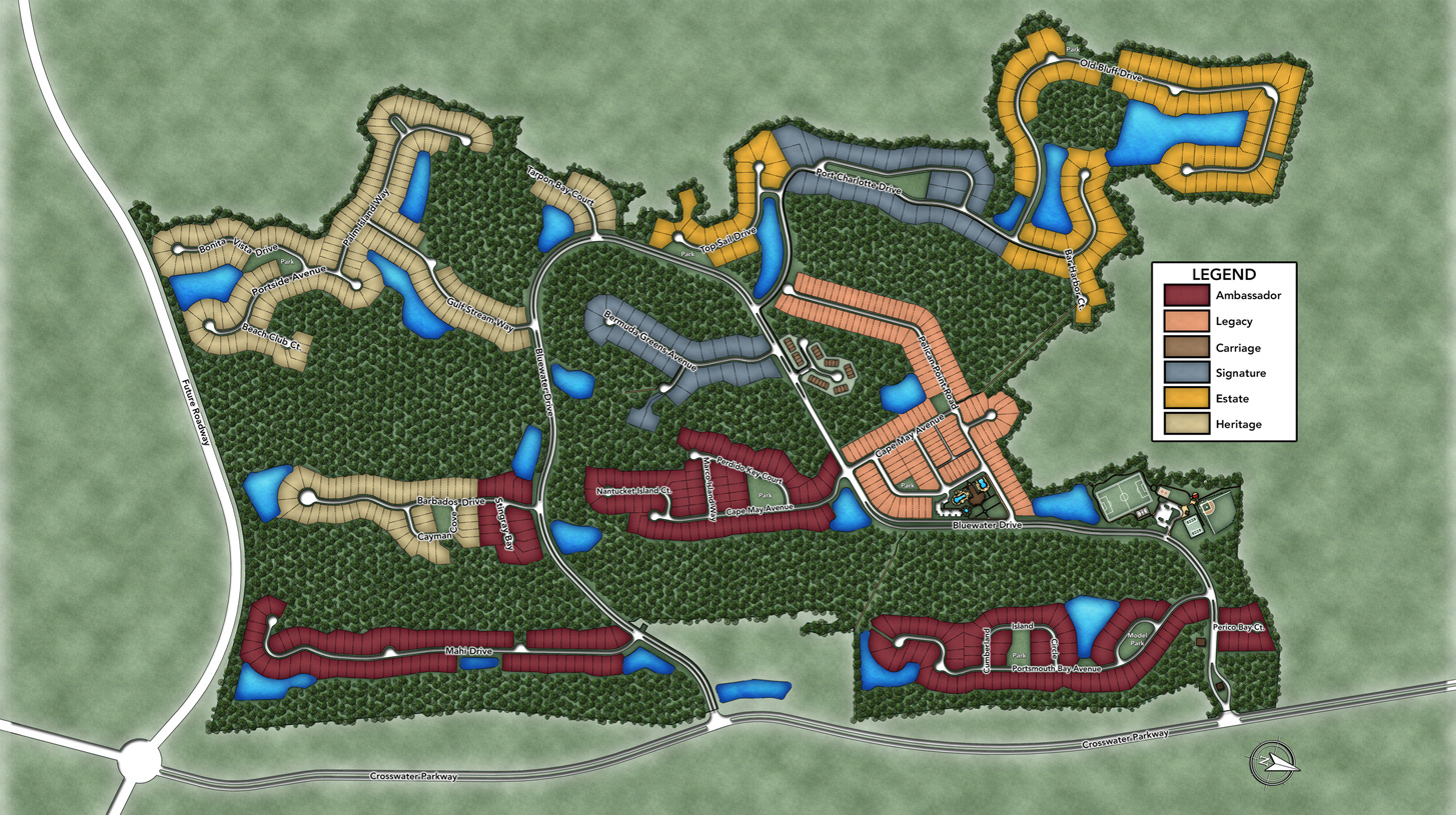 Coastal Oaks at Nocatee Overall Site Plan