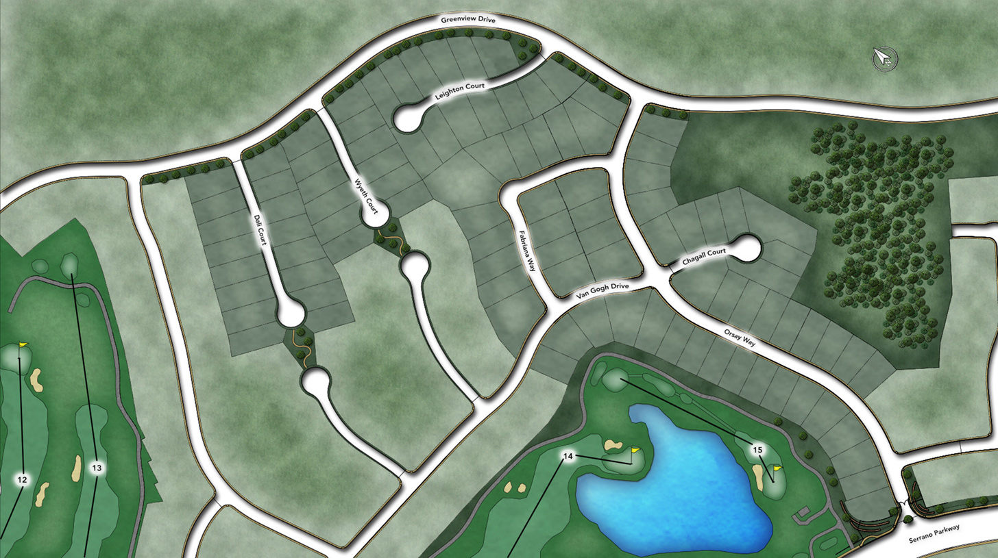 Pinnacle at Serrano Overall Site Plan