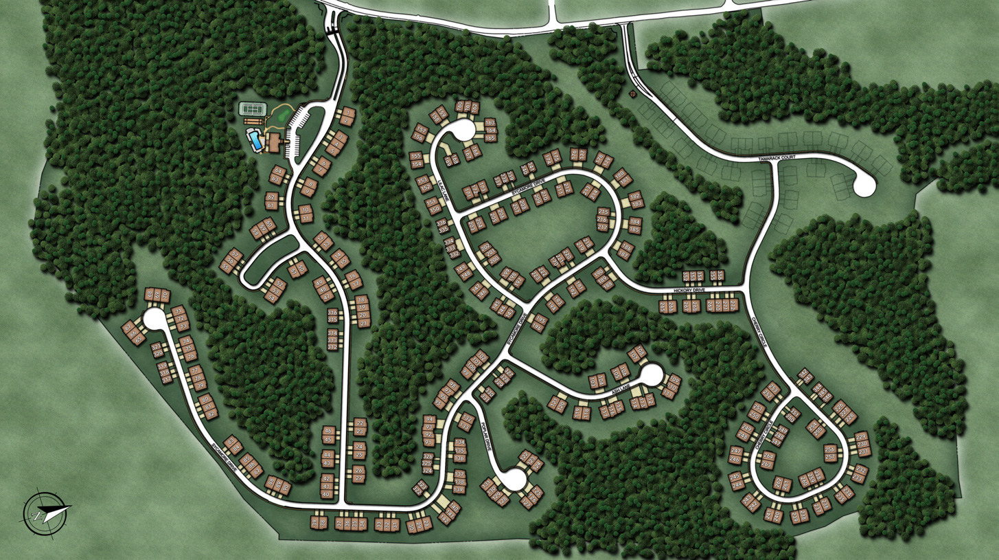 Regency at Prospect Overall Site Plan
