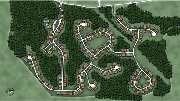 The Regency at Prospect Overall Site Plan