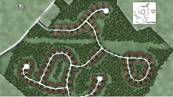 Regency at Prospect Site Plan