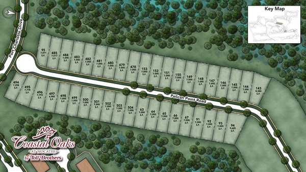 Coastal Oaks at Nocatee - Legacy Collection Site Plan II