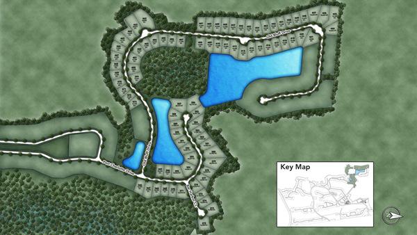 Coastal Oaks at Nocatee - Estate Site Plan