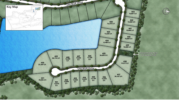 Coastal Oaks at Nocatee - Old Bluff Site Plan