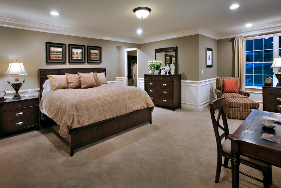 Master Bedroom Molding Paint Color Wainscot Furniture Lighting Love It All