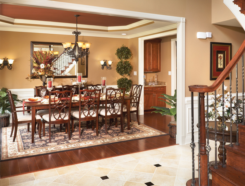 New luxury homes for sale in moseley va foxcreek the estates collection - Carolina dining room ...