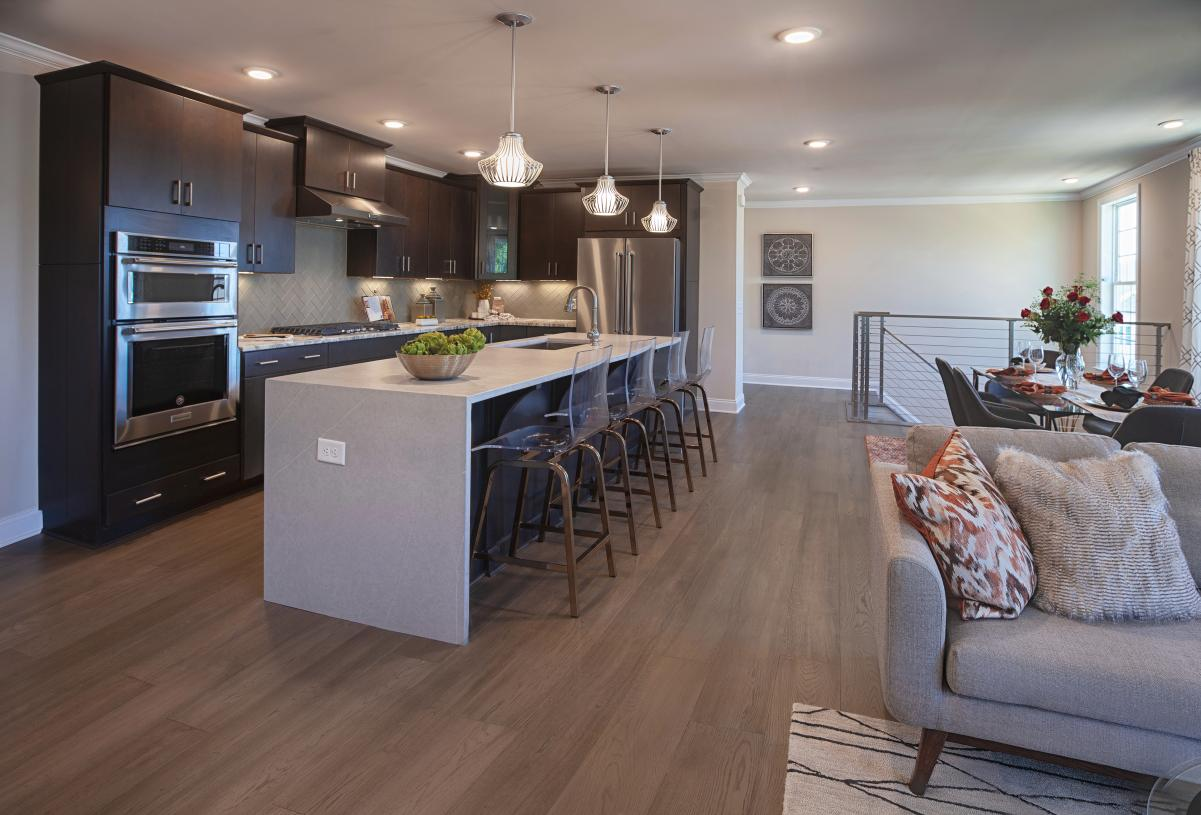 Open concept floor plan perfect for entertaining