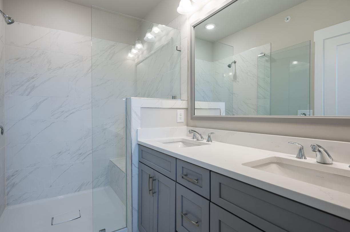 Sumptuous Primary Bath with over-sized shower