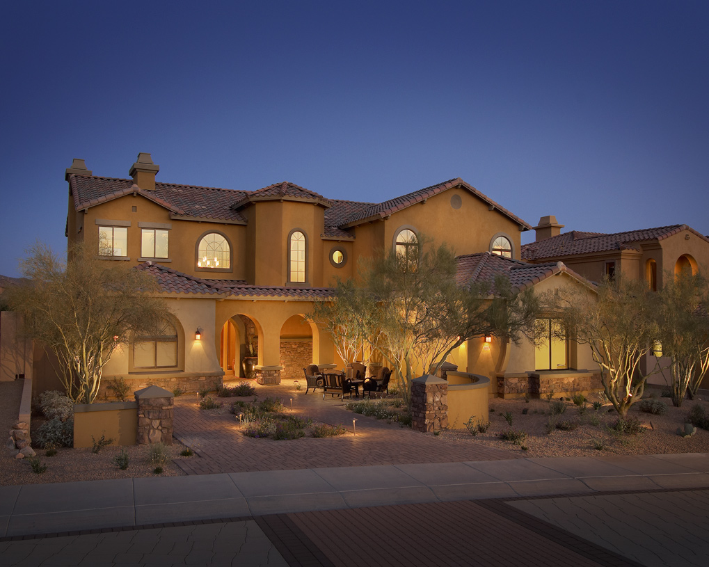 Scottsdale az new homes master planned community for Arizona home builders