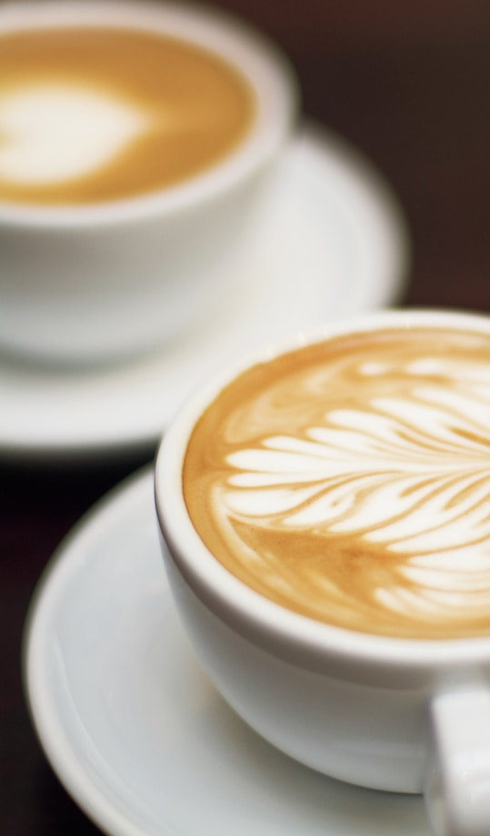 Grab a cup of coffee with friends at nearby coffee shops