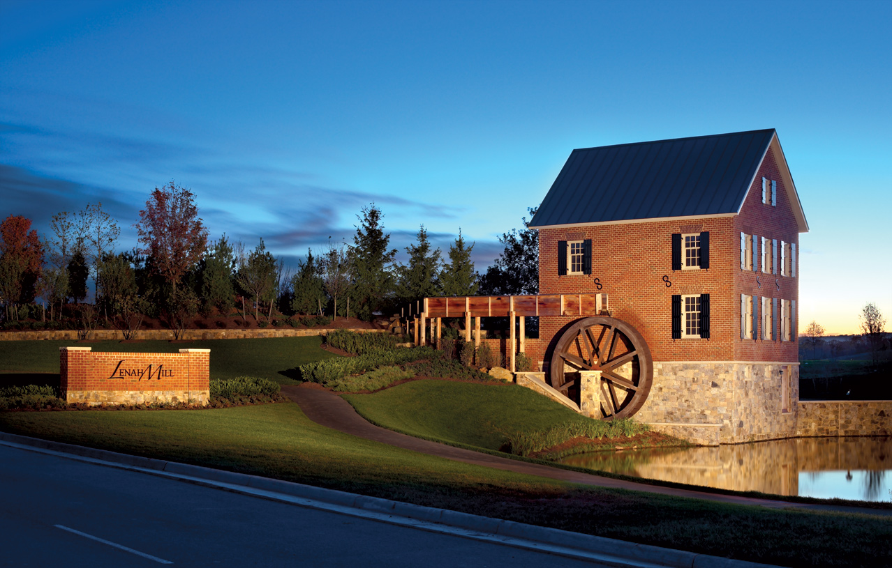 Aldie VA New Homes Master Planned Community – Lenah Mill Site Plan