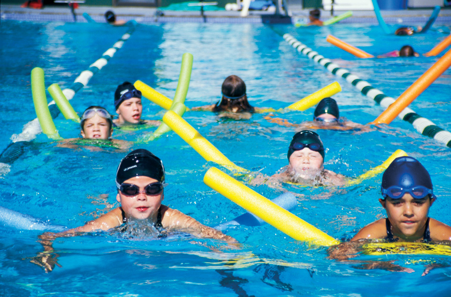 Cheer for the Lenah Mill Marlins at swim meets at our 25-meter competition pool