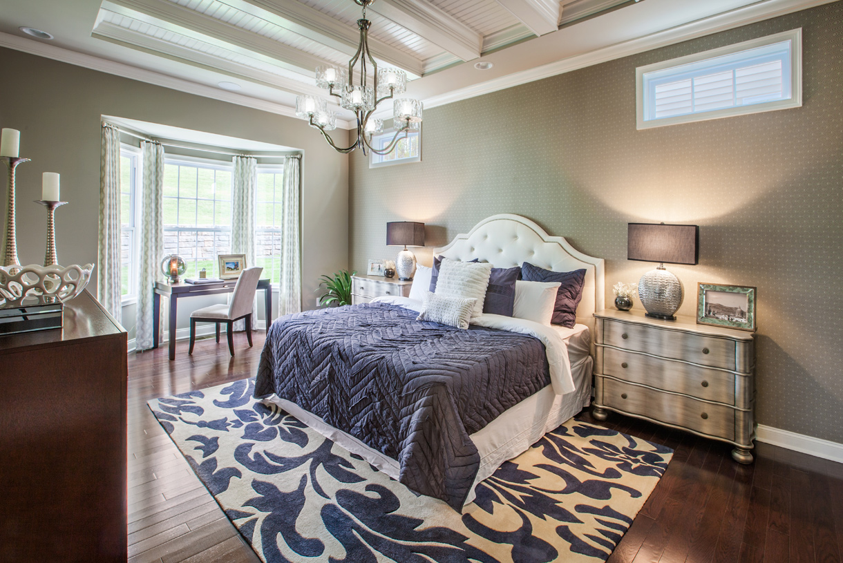 Spacious Master Bedroom Suite.