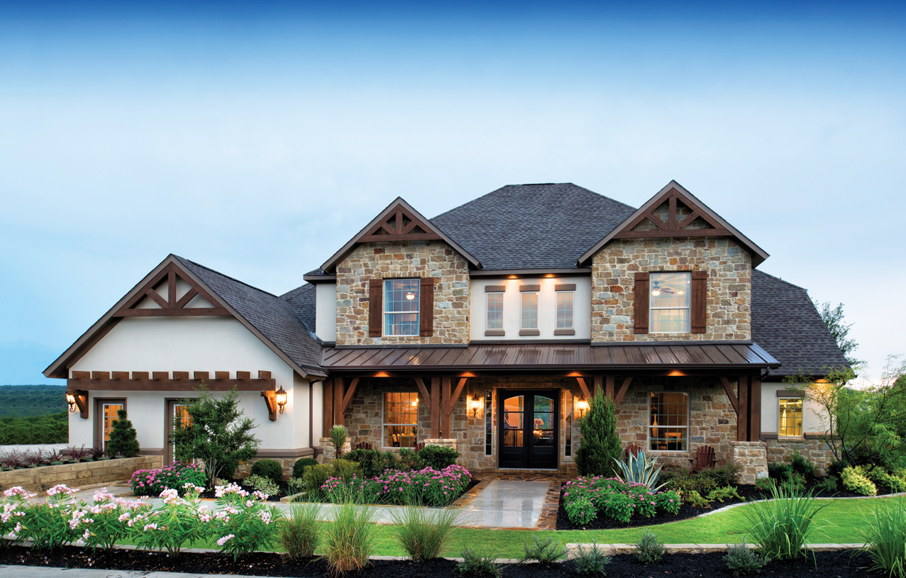 Leander tx new homes master planned community travisso for Hill country homes