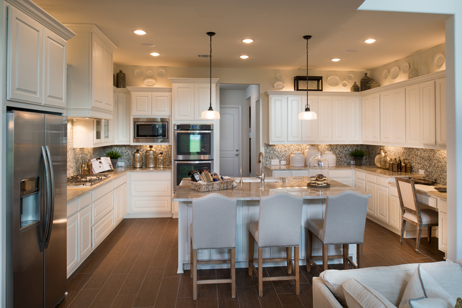 Maltese kitchen with ample counter space