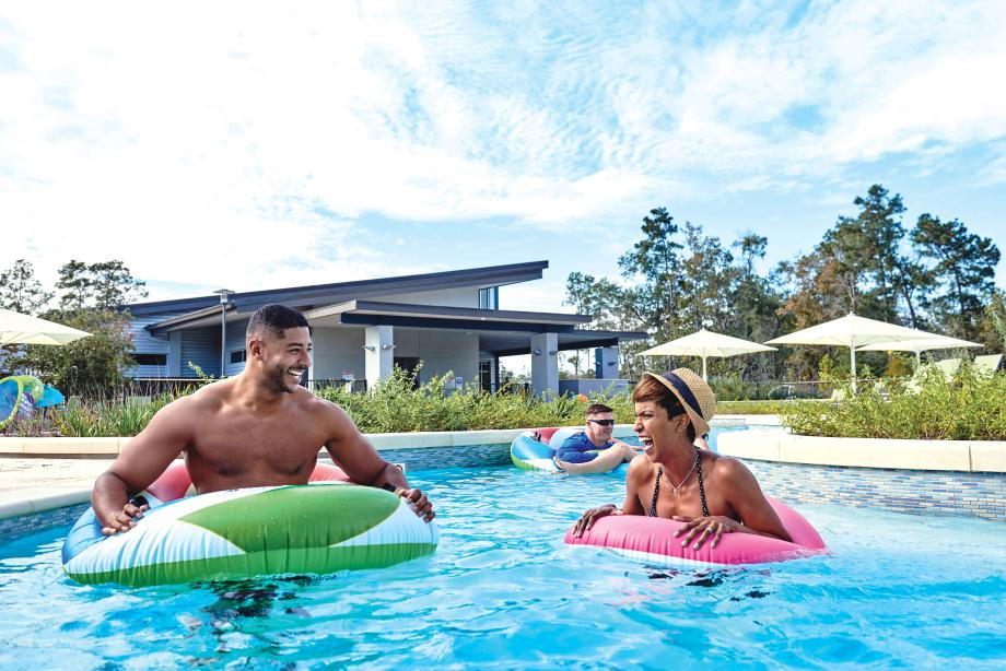 Cool off in the resort-style pool