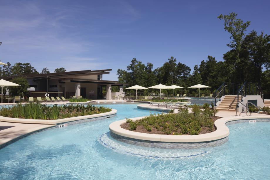 Kids will love the resort-style pool