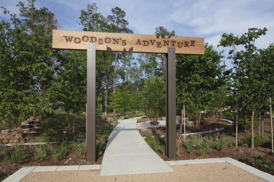 Explore the outdoors at Woodson's Adventure kids nature park