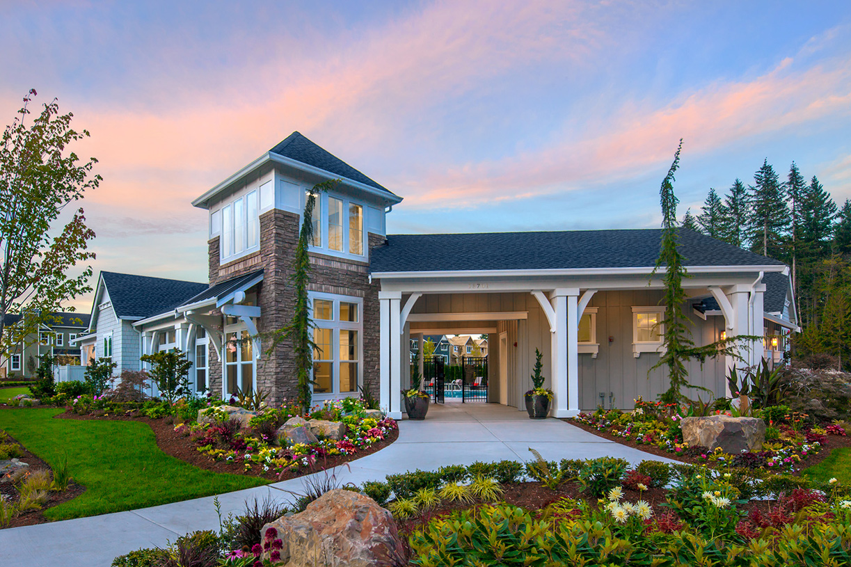 Bothell wa new homes master planned community timber creek for Creek house
