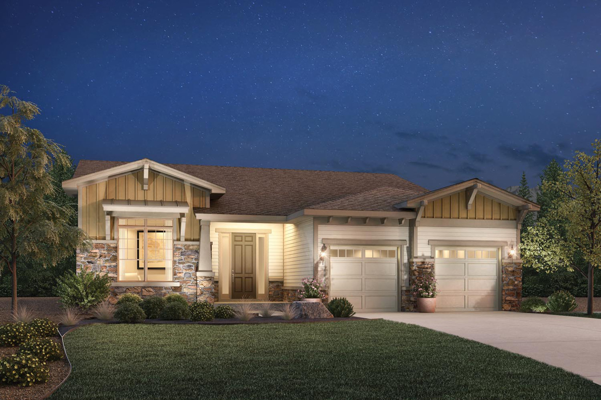 Aurora co new homes master planned community toll brothers at inspiration House aurora