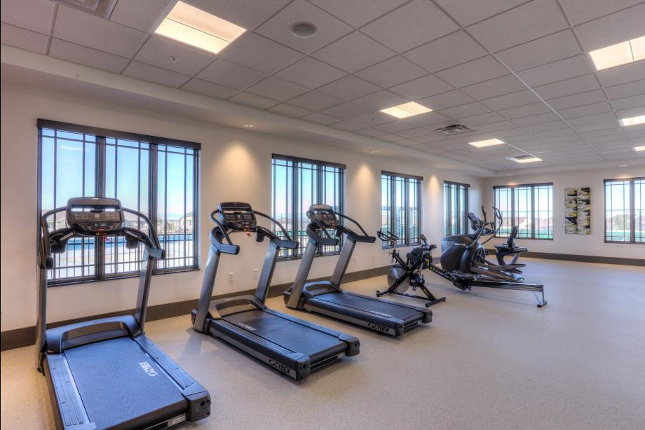 Hilltop Club fitness facility