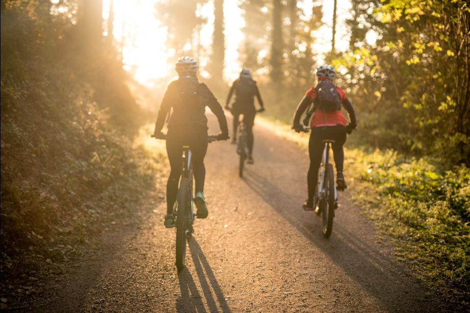 Great walking and biking trails throughout the community