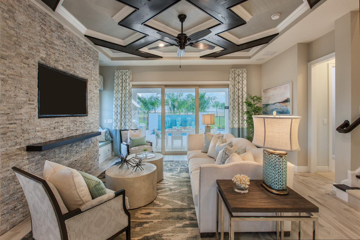 spacious living rooms - New Homes Winter Garden Florida