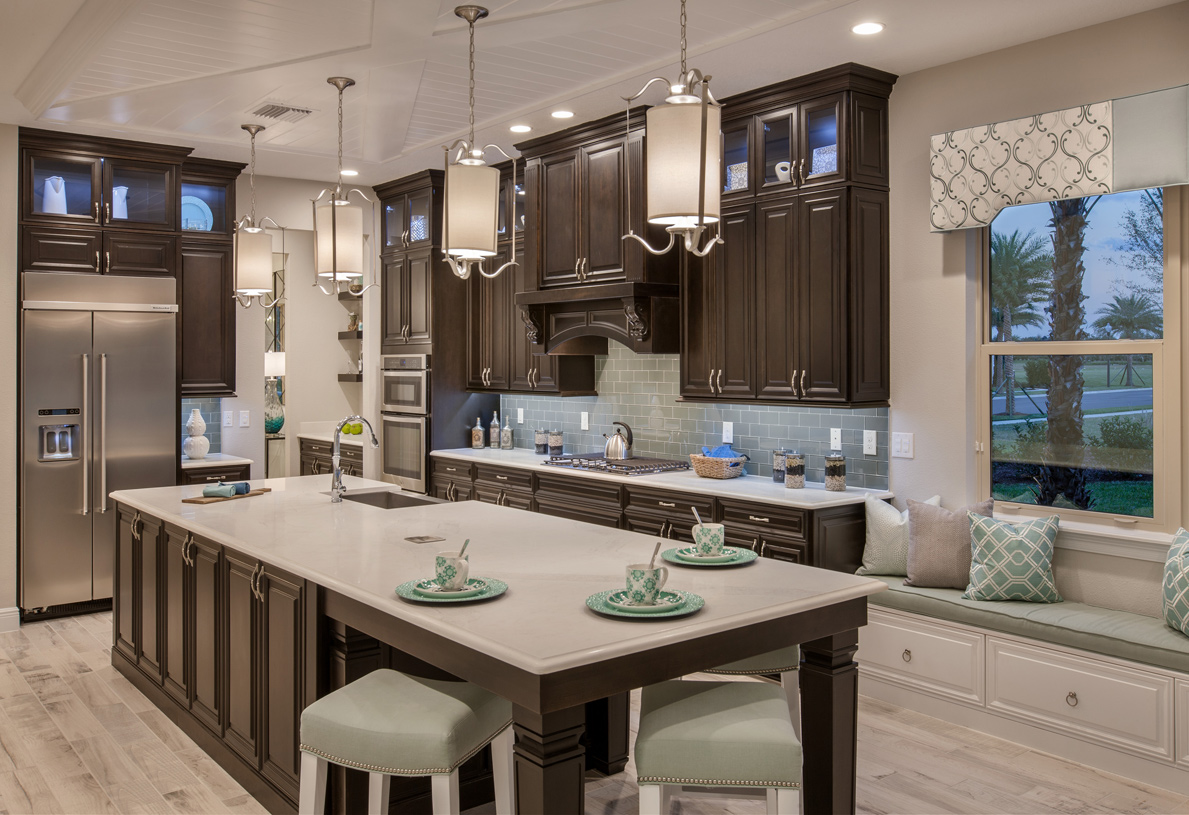 gourmet kitchens - Winter Garden Fl New Homes