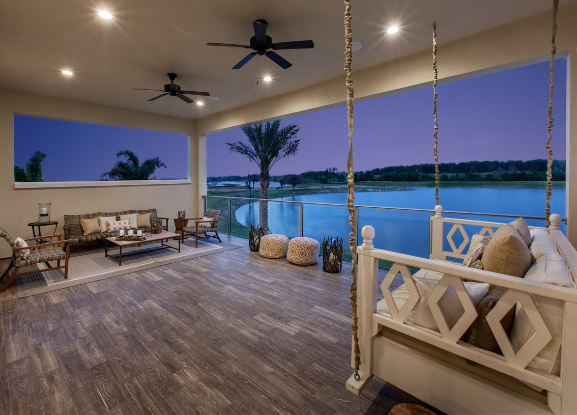 outdoor living - Winter Garden New Homes