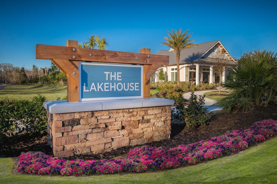 The Lakehouse Sign
