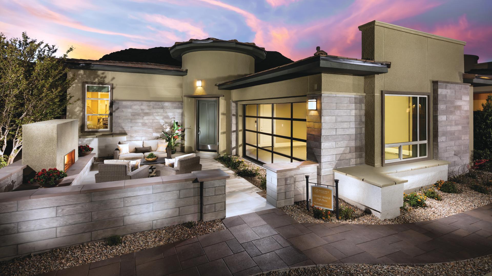 Stunning single-story home designs