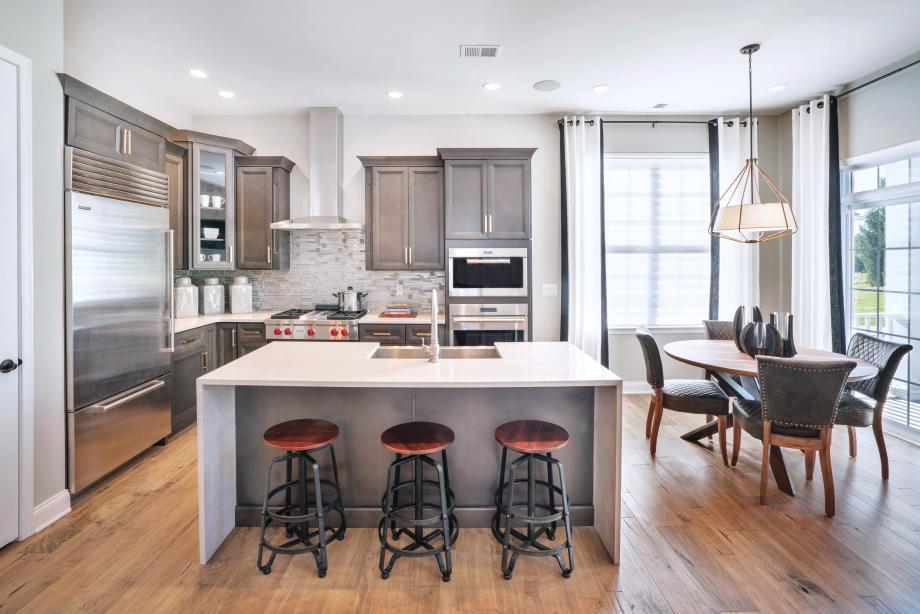 Well-appointed kitchens with center island