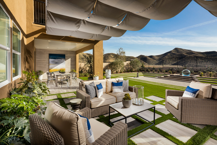 California rooms create a seamless transition for indoor-outdoor living