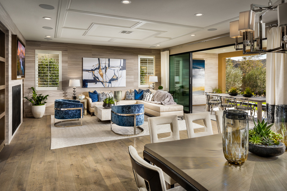 Open floor plans make family time effortless