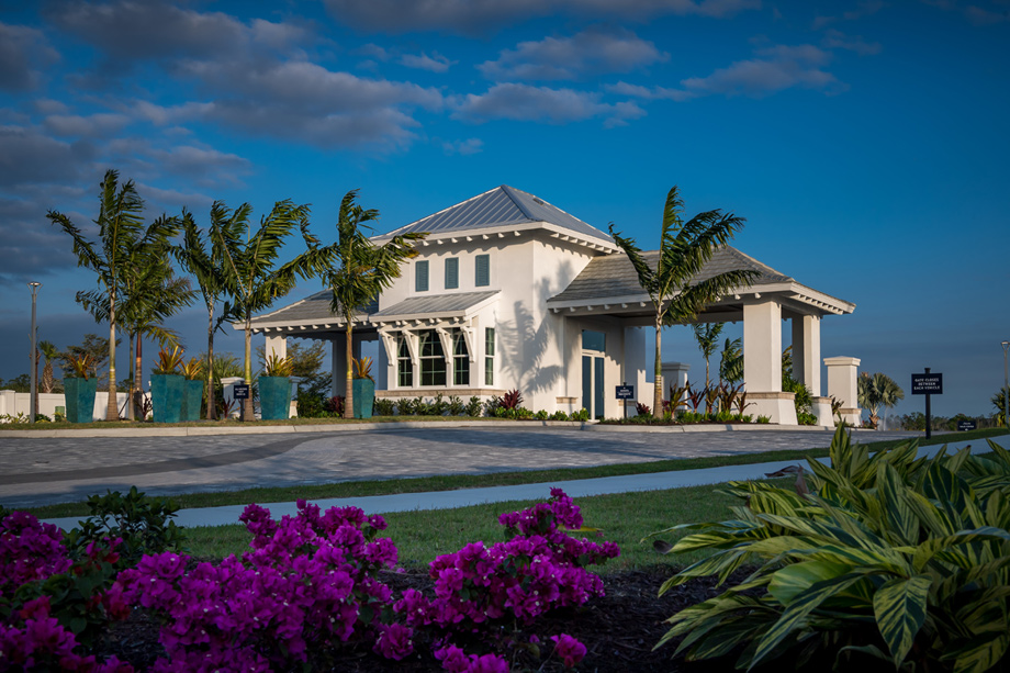 Private, gated community in Naples, Florida