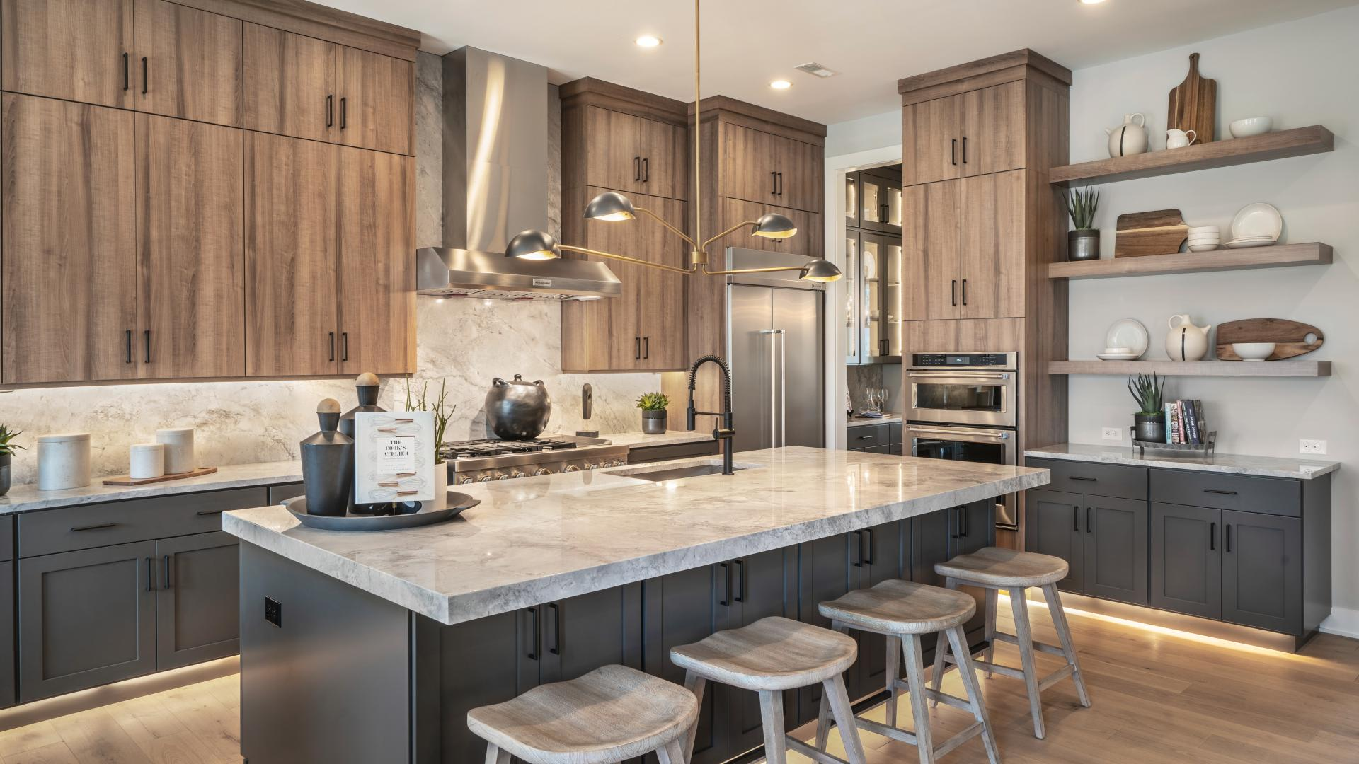 Well-designed kitchens with ample storage