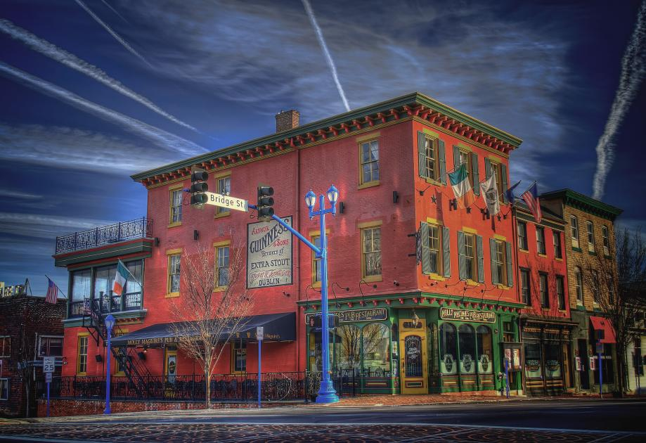 Shopping and dining opportunities in nearby downtown Phoenixville