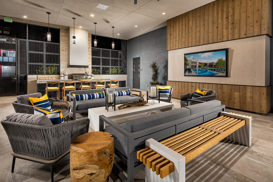 Rentable indoor and outdoor event spaces