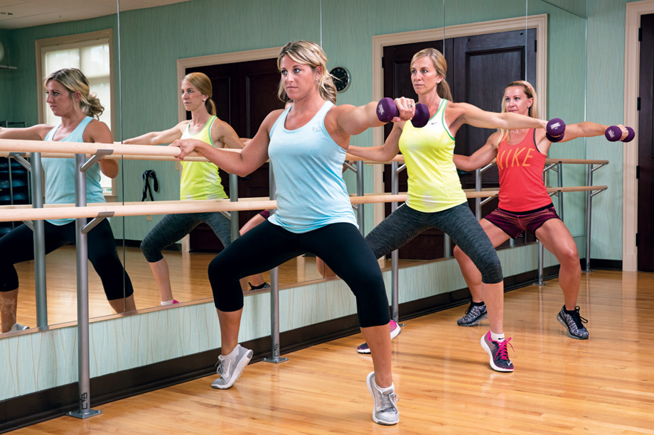 State-of-the-art fitness center and fitness classes
