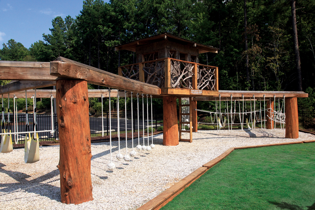 One-of-a-kind adventure playground