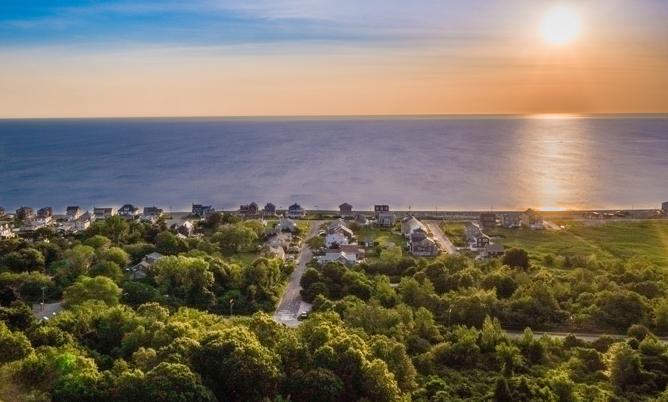 Sunrise view from Seaside at Scituate