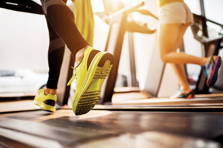Push yourself at the state-of-the-art fitness center