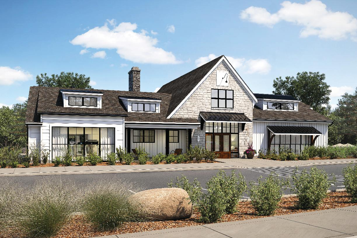 Regency at Creekside Meadows community clubhouse