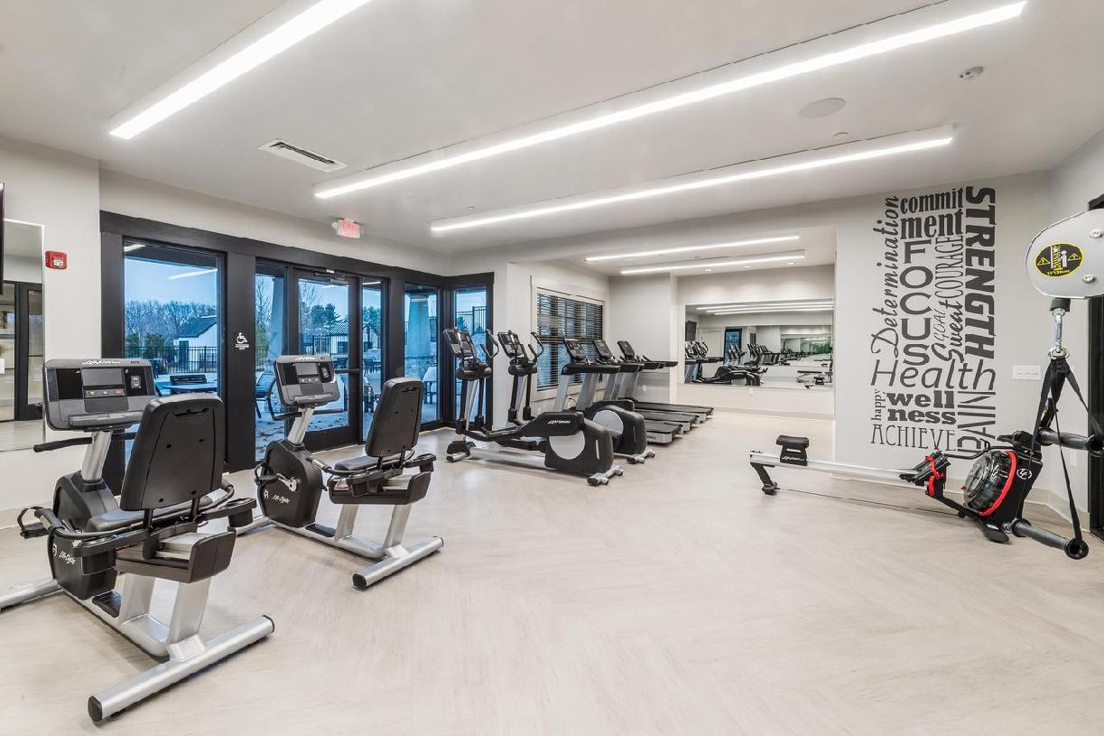Work out in the state-of-the-art fitness center