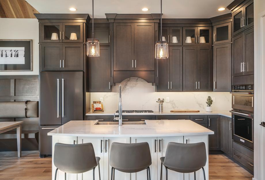 Stylish kitchens with brand-name appliances