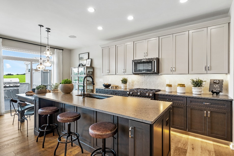 Well-appointed kitchens with ample cabinet space