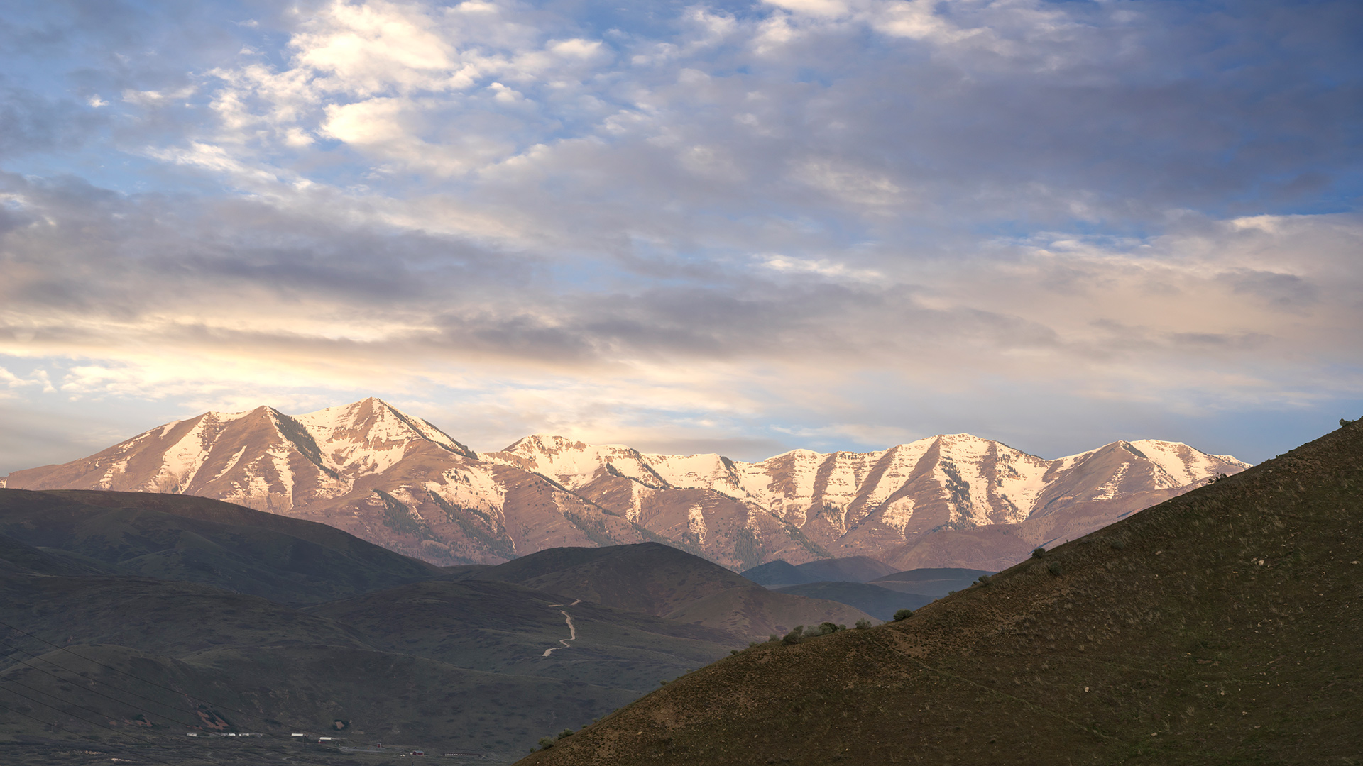Scenic Eagle Alpine Highland Police State  Utah