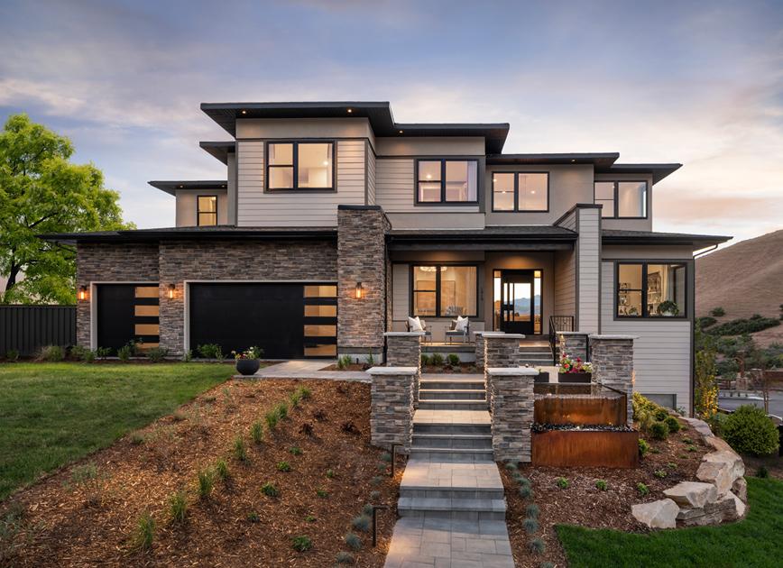 Diverse architectural home designs
