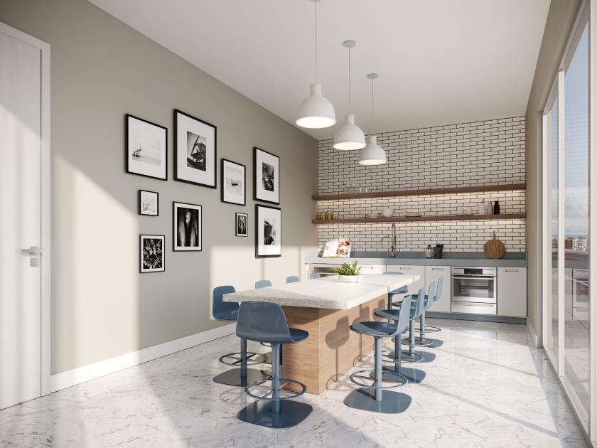 Entertainment kitchen area